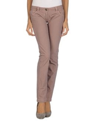 One Seven Two Casual Pants Pink