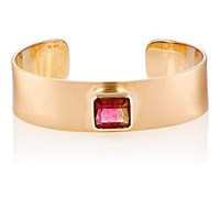 Irene Neuwirth Diamond Collection Women's Tourmaline And Rose Gold Cuff Red Purple No Color Red Purple No Color