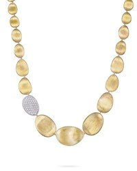 Marco Bicego Diamond Lunaria 18K Gold Necklace 18 L