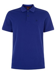 Victorinox Vx Plain Polo Shirt Royal Blue