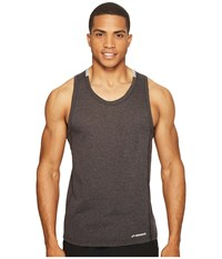 Brooks Distance Tank Top Heather Black Heather Sterling Men's Sleeveless