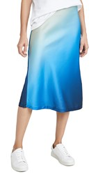Lioness Ombre Skirt Dark Cool Ombre