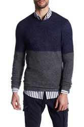 Antony Morato Colorblock Sweater Blue