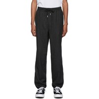 Wonders Black Pinstripe Lounge Pants