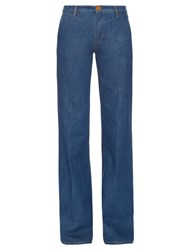 M.I.H Jeans Loon High Rise Flared Leg Jeans Blue