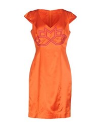 Gattinoni Dresses Short Dresses Women Orange