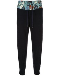 Kolor Drawstring Fitted Trousers Black