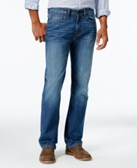 Tommy Hilfiger Men's Relaxed Fit Jeans Medium Wash