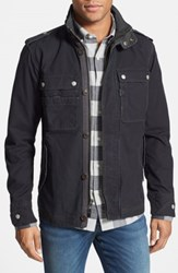 Jeremiah 'Paxton' Military Jacket With Stowaway Hood