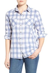 Caslonr Women's Caslon Classic Plaid Woven Cotton Shirt