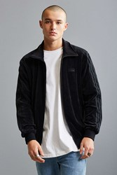Adidas Velour Track Jacket Black
