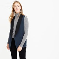 J.Crew Collection Tuxedo Vest