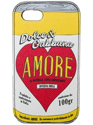 Dolce And Gabbana Iphone 7 8 Amore Case Multicolour