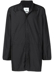 Herschel Supply Co. Micro Checked Raincoat Black