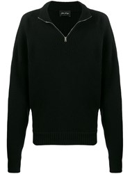 Andrea Ya'aqov High Neck Sweater Black