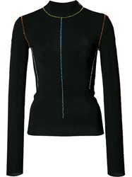 Christopher Kane Fitted Cardigan Black