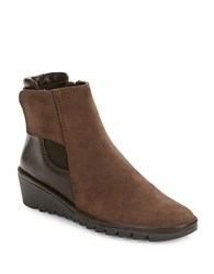 The Flexx Malificent Leather Ankle Boots Dark Brown