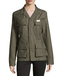 True Religion Vintage Military Jacket 2S Pineapp