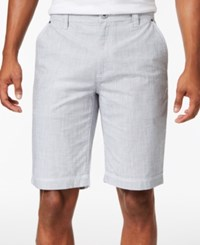Inc International Concepts Men's Chambray Cotton Shorts Only At Macy's Grey