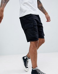French Connection Military Cargo Shorts Grey