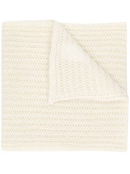 Marni Knitted Scarf White