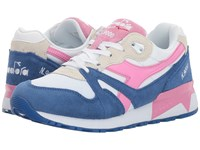 Diadora N9000 Iii Princess Blue Fuchsia Pink Athletic Shoes Multi