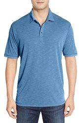 Men's Tommy Bahama 'New Paradise Around Spectator' Polo Bright Cobalt