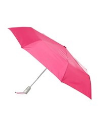 Totes Signature Automatic Umbrella Pink