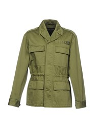 Marc Jacobs Jackets Military Green