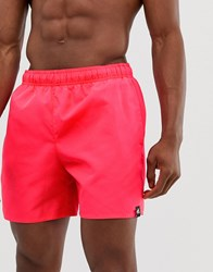 Adidas Swim Shorts In Red