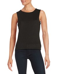 Calvin Klein Laser Cut Tank Top Black