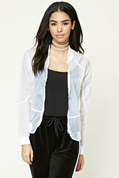 Forever 21 Semi Sheer Windbreaker