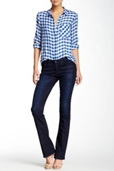 Big Star Sarah Mid Rise Slim Bootcut Jean Blue