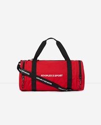 The Kooples Red Bowling Bag Rubber X Sport Logo