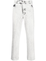 Stella Mccartney Cropped Bleached Jeans 60