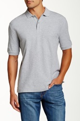 Faconnable Solid Polo Gray