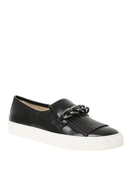 William Rast Phyllis Leather Loafers Black