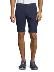 Karl Lagerfeld Classic Textured Shorts Navy