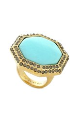 Women's Louise Et Cie Pave Cocktail Ring