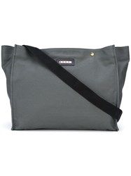 Marni Oversized Tote Grey