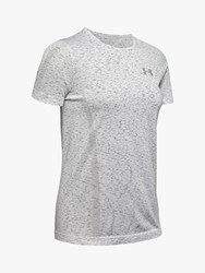 Under Armour Vanish Seamless Spacedye Training Top Halo Grey Pitch Grey Metallic Silver