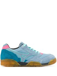 Mizuno Lace Up Sneakers Blue