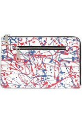 Marc Jacobs Printed Leather Tablet Case White