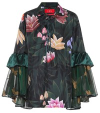 F.R.S For Restless Sleepers Pothos Floral Printed Pyjama Shirt Green