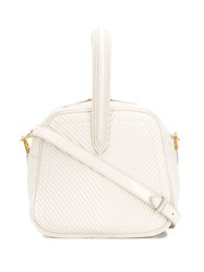 Marco De Vincenzo Quilted Tote Neutrals