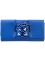Perrin Paris Hand Holster Wallet Blue