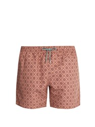 Stella Mccartney Mosaic Print Swim Shorts Light Pink