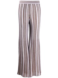 M Missoni Metallic Stretch Flared Trousers 60