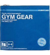 Flight 001 Go Clean Gym Gear Bag Blue