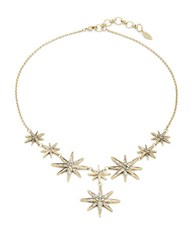 Theodora And Callum Evil Eye Statement Necklace Gold